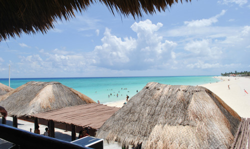 Playa Del Carmen, Mexico  I might love winter, but damn I miss Mexico. You wake up, got nothing to worry about. The only thing that's in your mind is wether you should go eat, explore mexico, swim, do water activities or swim again. Hopefully I'll see you real soon Mexico!