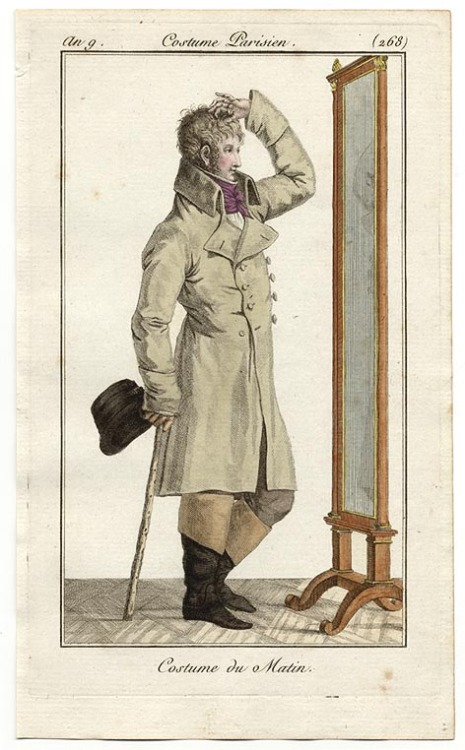 Journal des Dames et des Modes, 1800 Tousle that hair!