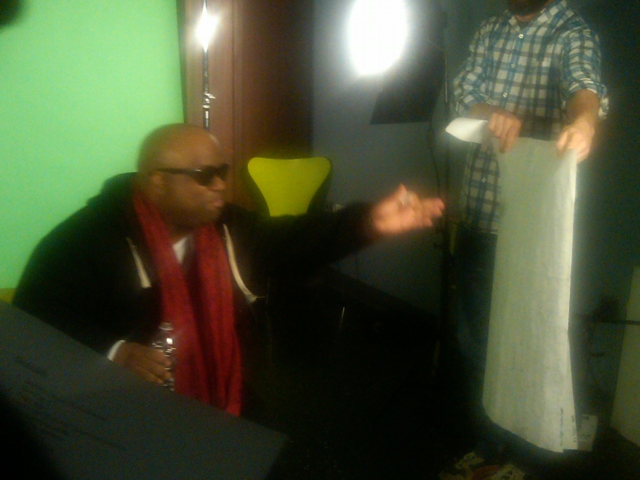Cee Lo Spits. Take 1. posted.vh1.com