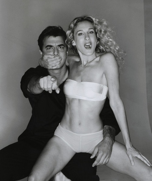 LOVE THIS!♥   Mr. Big & Carrie Bradshaw