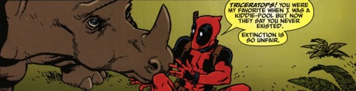 adreamforthedead:  raifontherocks:  —Deadpool Team-Up #885 (2011)  It's always a little worrying when you share Wade's sentiments.
