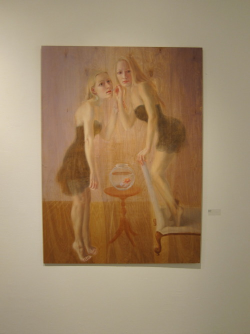 My painting in the CAA exhibition opening Friday Feb 11th 6-9pm- Hunter College/Times Square Gallery, 450 West 41st, New York, NY 10036 (btw 9th and 10th ave at Dyer Street)  Come and be impressed by all the talent the MFA programs in NY have to offer!
