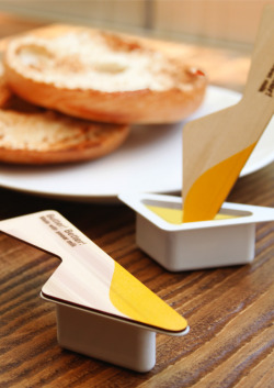 Nothing Better than Butter Better. Clever packaging solutions for these single serve butters. Designed by Yeongkeun Jeong.
