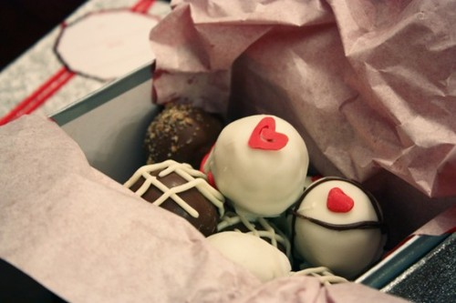 valentine's day came early for us! just received these wonderful treats from tinybites! thank you marcia! www.tinybites.etsy.com