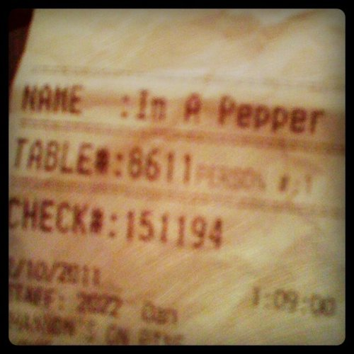 I'm A Pepper!  It's the little things that make me happy.