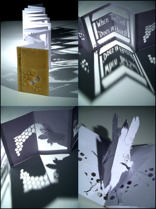 deviantart:  Pop-up book by ~SkaraManger