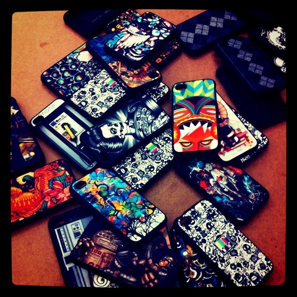 Pumpin out cases! #Artsprojekt #zazzle #iPhone #speck #fitted #cases #POOL #magic (Taken with Instagram at Zazzle)