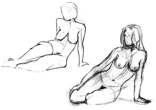 Another picture example if anyone likes to have rough drawings of the body. Please donate and let me know if you would like something like this.  Or something like the last picture blog of a superhero!  Thanks in advance!