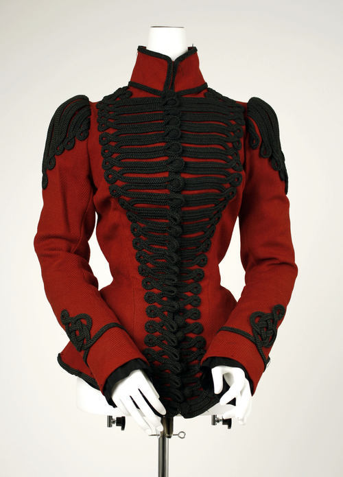 Jacket ca. 1899 via The Costume Institute of The Metropolitan Museum of Art
