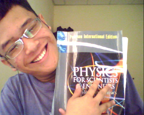 I love Physics…. It makes me go wild in My Campus….. I love magnetism….. Love ya… Oh yeah thanks for making me go wild and sick of you!