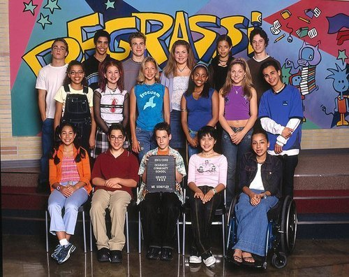 "icky-vicky:  fortyseven. ""I LOVEE Degrassi."" - day one."