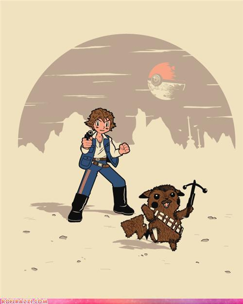 Star Wars meets Pokemon. AH-MAZIN'!