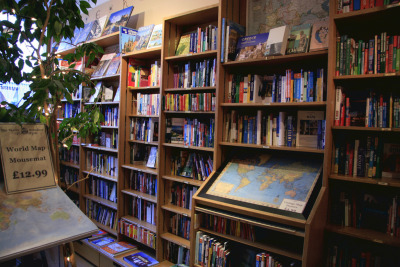 bookoasis:  The Travel Bookshop in London  (by lai.wei)