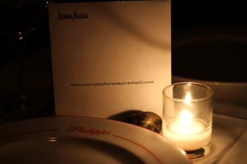 "Last night consisted of dinner at Philippe Chow's restaurant, ""Philippe's"", with Nieman Marcus' fashion director, Ken Downing. The food was fantastic (""Philippe's"" is considered to be one of the best Chinese food restaurants in the City- which is a lot to say), and Ken and his crew were genuinely charming. Picture by Sabino"