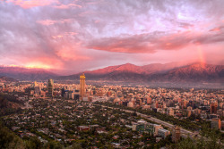 Santiago, Chile by Christian Bobadilla