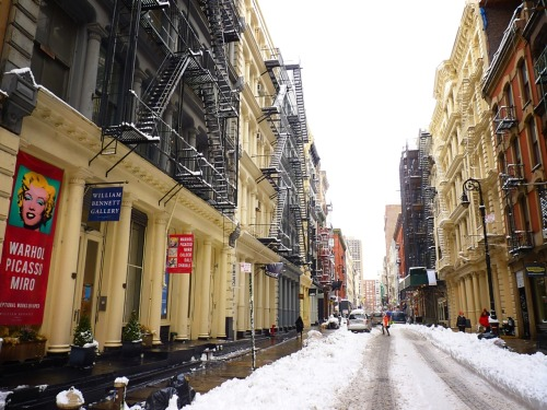 Soho, Manhattan.  (Clicking through the photo will take you to where it is located on Flickr where you can see larger versions and/or more information.)