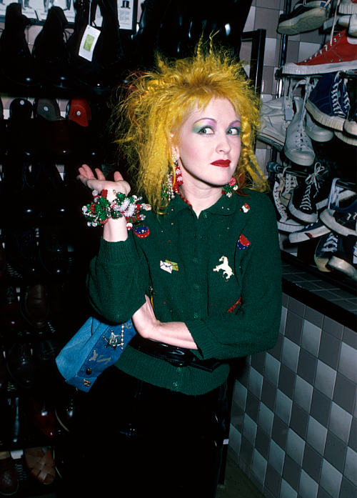 Cyndi Lauper - 1980s (High Resolution)