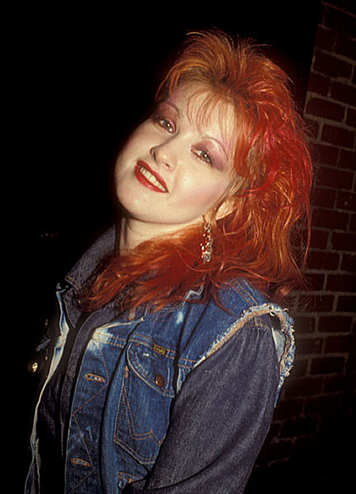 Cyndi Lauper Bette Midler Party - 1980s