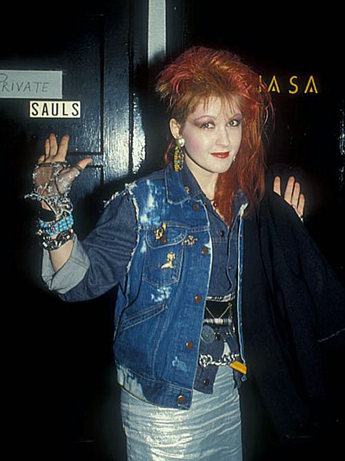 Cyndi Lauper at Bette Midlers Party - 1980s