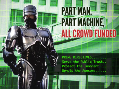 Bring Robocop To Detroit, Creep Detroit Needs A Statue of Robocop! by Imagination Station Detroit — Kickstarter