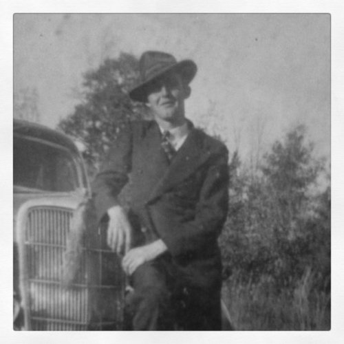 Claude Blankenship, Grandfather/Raconteur (Taken with instagram)