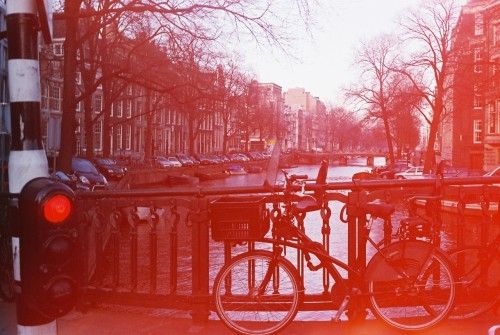 Amsterdam red light by Davidge