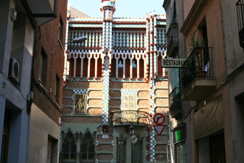 The hidden Gaudi house in Gracia, it was amazing!