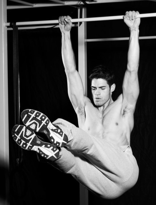 Work it out!   Chad White by Eric Ray Davidson