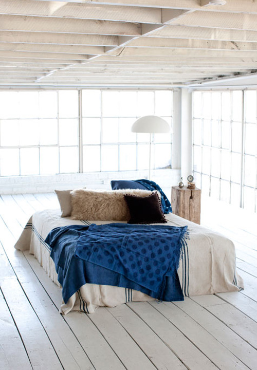 micasaessucasa:  a gorgeous loft | the style files  i dreamt of this place once.