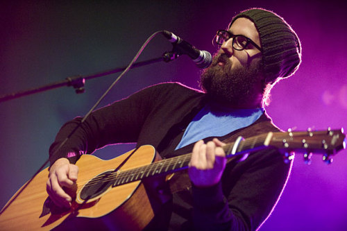 fuckyeahbeards:  The only thing better than William Fitzsimmons' music is his beard.  :D