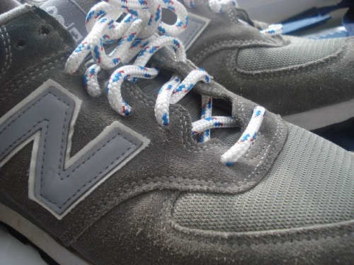 Alex Grant's DIY Nautical New Balances