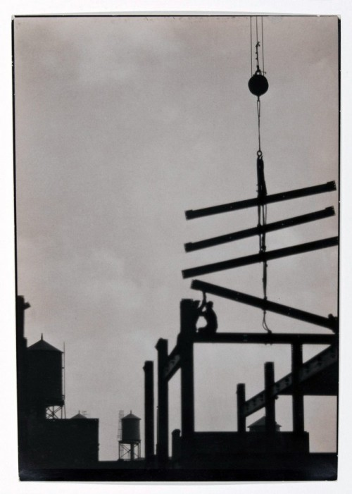liquidnight:  E.O. Hoppé Steel Construction, Philadelphia, 1926 [via Art Blart]