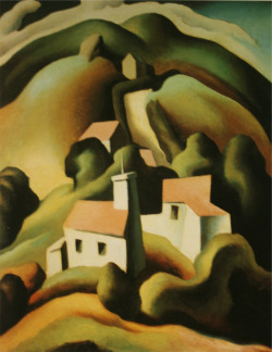"Thomas Hart Benton, ""Chilmark"" (1923)"