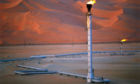 Wikileaks: Cables cast doubts on Saudi Arabia's oil reserves.  emergentfutures: Peak oil: We are asleep at the wheel Revelations that the Saudis have overstated their oil reserves are a timely reminder of the huge threat to the global economy Full Story: The Guardian