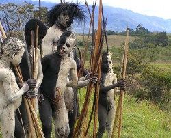 Baliem Festival Boys, Baliem Valley | Papua - Indonesia By: Susi Quattro