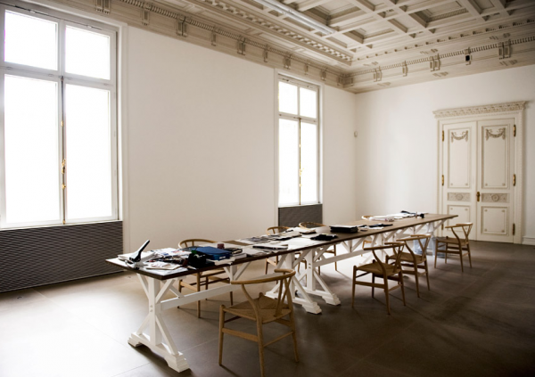 Jil Sander's house and studio in Hamburg, Germany Photographed by Jil Sander herself