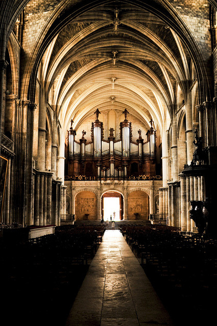 Bordeaux Cathedral (by Zach Stone). Here is my Sunday church pic. The cathedral in Bodeaux.