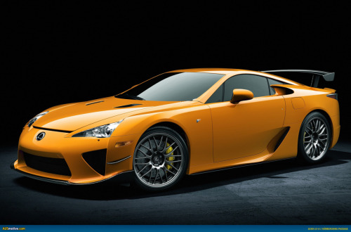 automotivated:  Lexus LFA Nurburgring Edition. via www.ausmotive.com