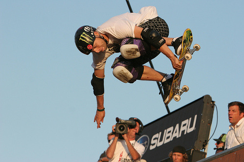 X Games 14, Skate Vert Finals Los Angeles, California