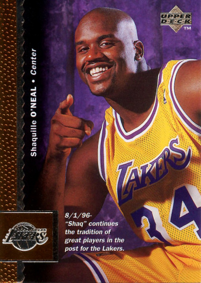 start from now fatshawnkemp:  Lakers Shaq