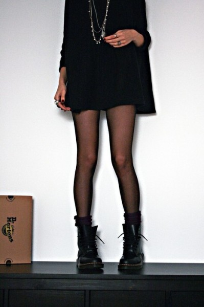 jinxsays:  Your legs, this outfit = my wishlist.