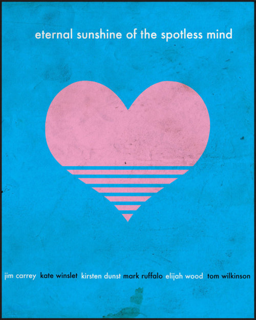 minimalmovieposters:  Eternal Sunshine of the Spotless Mind by David Andrew Lee asthmaticcats' and anonymous' request