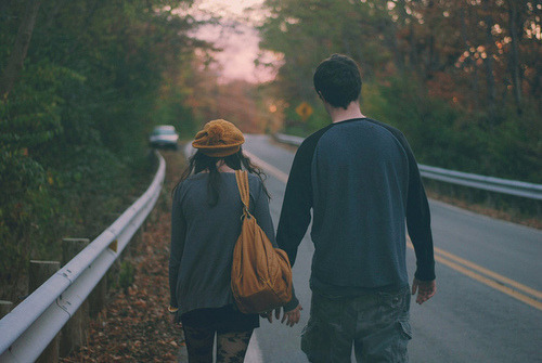 I'll walk a million miles just to be next to you.