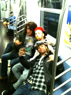 Fucked up on the subway in NYC? Hell yeah.