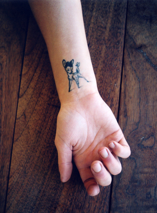 Bambi Northwood-blyth's tattoo