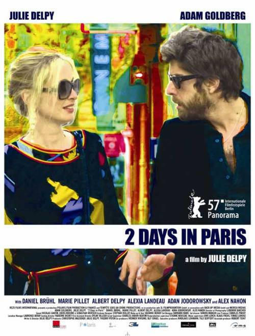 "marion and jack try to rekindle their relationship with a visit to paris, home of marion's parents — and several of her ex-boyfriends.dir.: julie delpycomedy / drama / romance2007adam goldberg as jackjulie delpy as marionsome facts:- the characters of marion's parents are played by delpy's real life parents, albert delpy and marie pillet.- marie pillet, julie's mother, was actually one of the '343 salopes' back in 1971. - because of his commitment to the film deja vu (2006), julie delpy was unsure if adam goldberg would be available to be in her film. she was forced to push back shooting to accommodate his schedule but he eventually arrived on set, twelve hours late. - the book that the american tourist show to jack is ""the da vinci code"" by dan brown. - while working on the movie, julie delpy claims she didn't watch any romantic comedies for inspiration. she did, however, watch jaws (1975) several times. the arguments between jake and marion, she said, resembled a shark lurking in the water. - when asked why she edited the film herself julie delpy said that, because of budget constraints, it was a choice between either hiring an editor or an editing bay. since an editing bay was the more essential item, she took on the role of editor out of necessity.+: imdb"