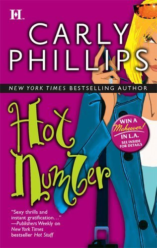 Hot Number By Carly Phillips-I just started rereading this series again. The Sophie sisters are gorgeous, successful and a laugh. Each books tell their story of meeting the perfect man. Micki's story, Hot Number, was my favorite because its the classic tomboy turned into greek goddess type of story and boy does she get the boys attention after she gets her well over due makeover.