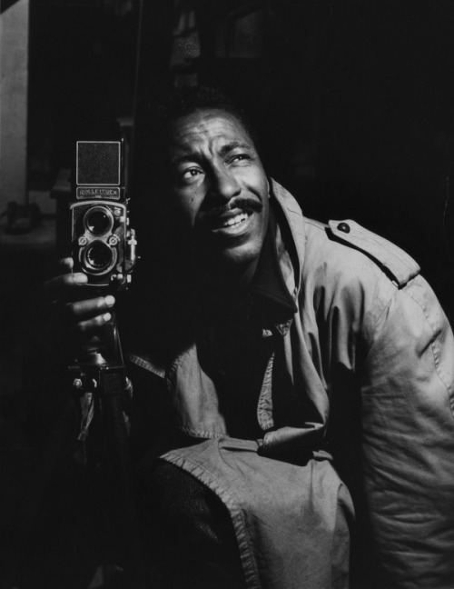 VBG Men: legendary photographer Gordon Parks.