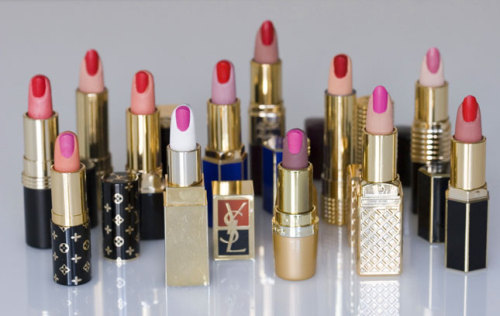 boystown:  Aurora Reinhard - Curiosity, Series of Lipsticks (2008)