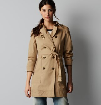 This classic trench, originally $128, is now $68, and free shipping, at LOFT. A good deal for a wardrobe staple!
